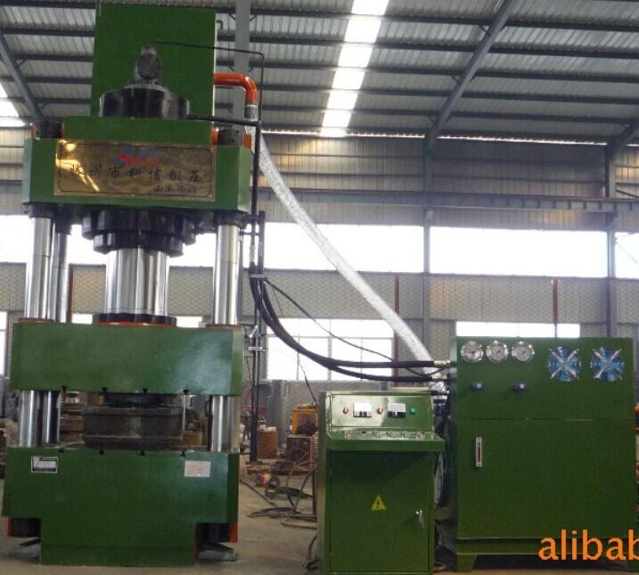 500吨四柱液压机技术参数图片